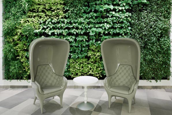 Lobby_third_floor_detail_armchair_vertical_garden